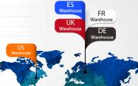 Geekbuying possède des entrepôts en Europe, qui permettent d'accélérer la livraison
