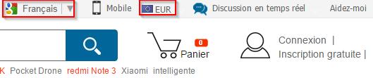 Comment utiliser Geekbuying en euros et en français ?