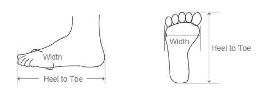 Comment se mesurer et choisir des chaussures à la bonne taille