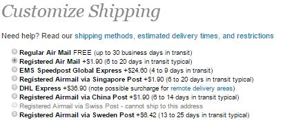 Les multiples options de livraison disponibles sur FastTech