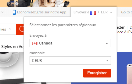 Comment se connecter à AliExpress canada ?