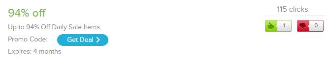 Un code de réduction qui s'élève à 94% sur AliExpress