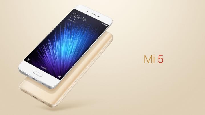 Le Xiaomi Mi5
