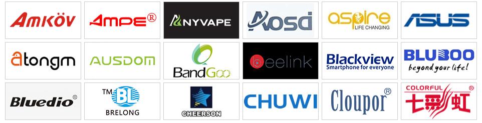 Trouver des marques sur GearBest