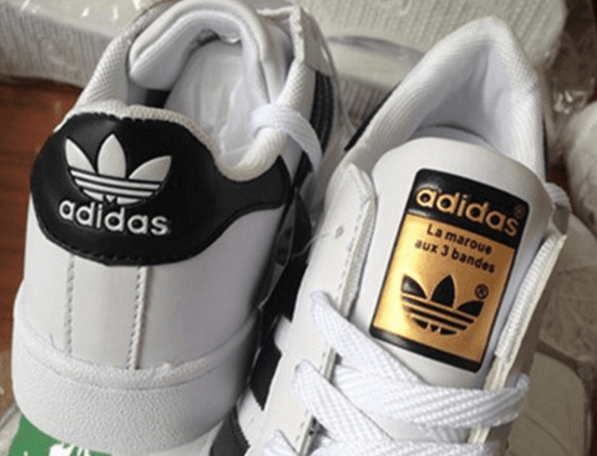 Une réplique d'Adidas Superstars sur AliExpress