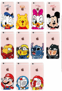 coque iphone 6 personnage