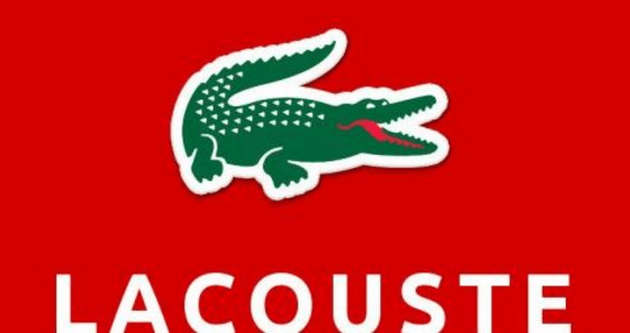 "A replica of the brand ""lacoste"""