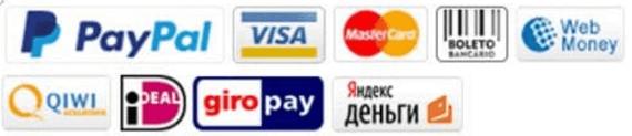 The payment methods on Banggood