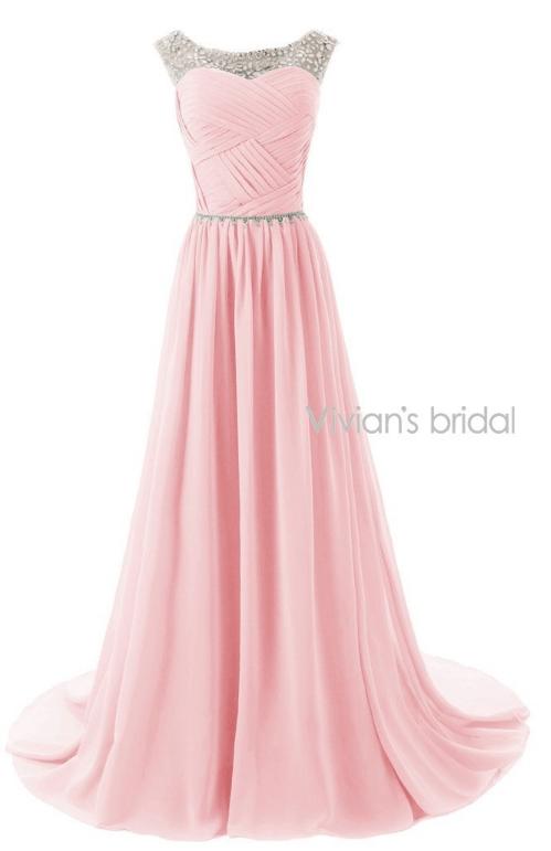 Une robe de soirée magnifique, couleur saumon, trouvée sur AliExpress