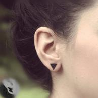 Boucles d'oreilles noires sur AliExpress