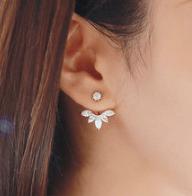 Boucles d'oreilles or et argent sur AliExpress