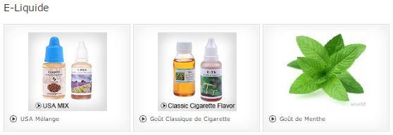 Mon avis sur les e-liquides CigaBuy