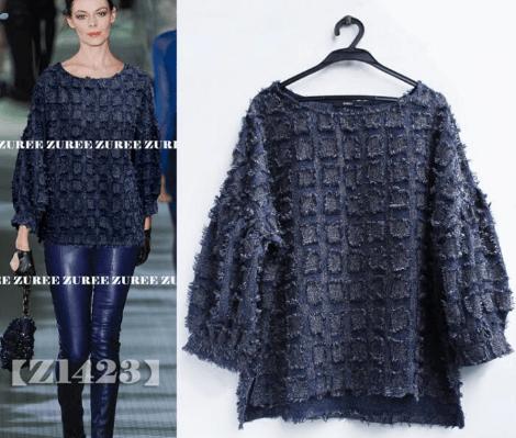 Vous pouvez acheter ce pull bleu marine Gucci directement sur AliExpress