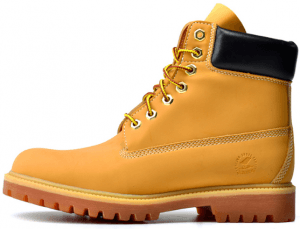 Une paire de Timber boots sur AliExpress