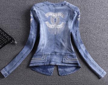 Une veste en jean Gucci vendue sur AliExpress