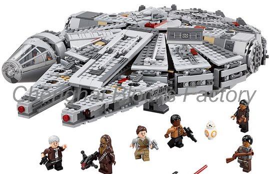 Les lego (ou Lepin) Star Wars sur AliExpress