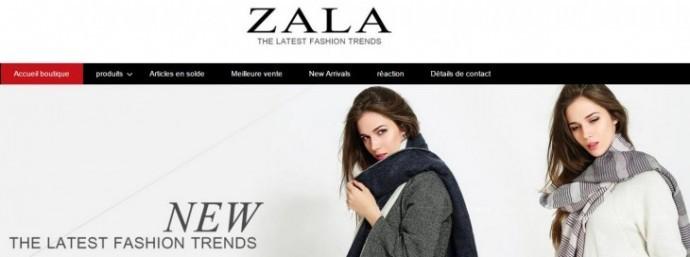Comment trouver des produits Zara sur AliExpress