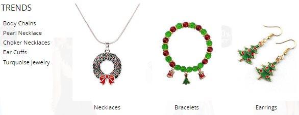 Bijoux pour femmes NastyDress