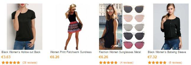 Vêtements pour femmes sur CNDirect