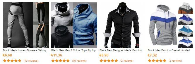 Vêtements pour homme sur CNDIrect