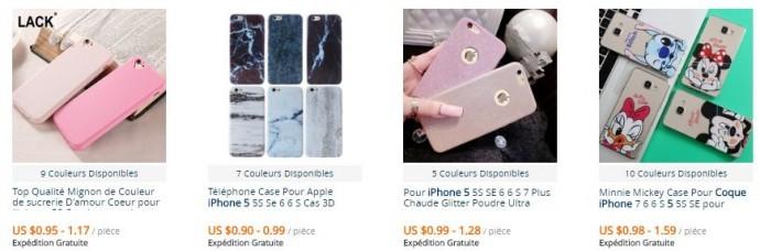 Des petits prix en France avec AliExpress